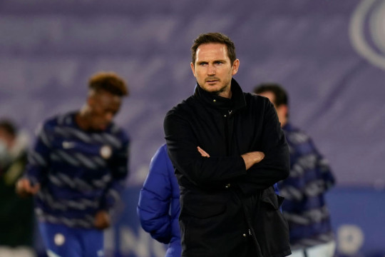 Frank Lampard was sacked after Chelsea went on a run of five defeats in eight Premier League games