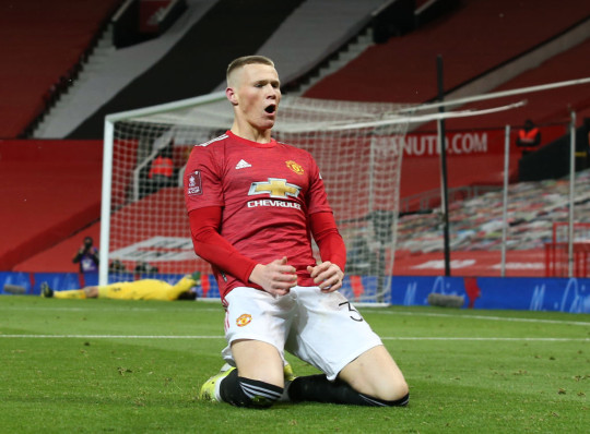 Scott McTominay scored the winner for Manchester United in extra time