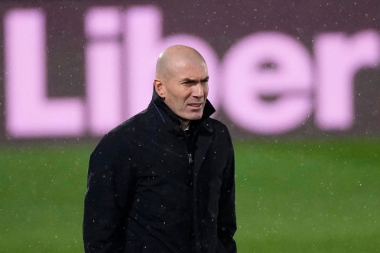 The midfielder found playing time hard to come by under Zidane