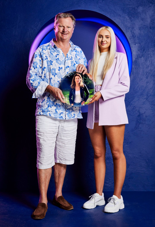 The Circle series 3 contestant Jamie and Millie