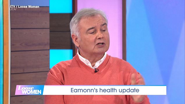 Eamonn Holmes offers health update after chronic pain battles