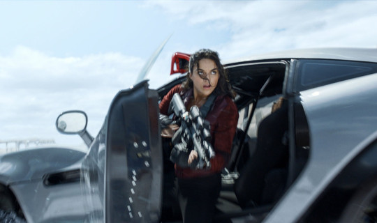 Editorial use only. No book cover usage. Mandatory Credit: Photo by Moviestore/Shutterstock (8326441m) Michelle Rodriguez Fast & Furious 8 - 2017