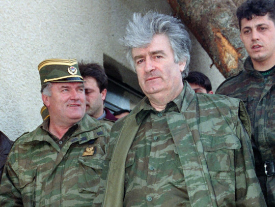 Radovan Karadžić in his military uniform. Radovan Karadžić, who committed genocide at Srebrenica, will serve out his life sentence at a British prison, Dominic Raab announced.
