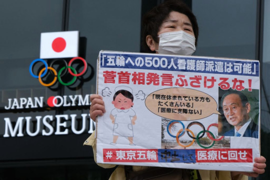 Protests over the Olympics