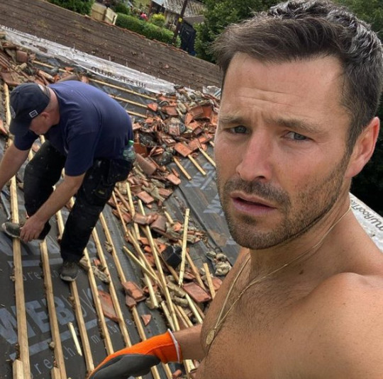 Mark Wright and Michelle Keegan building granny flat Picture: wrightyhome