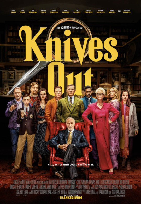 Knives are Out poster 2019