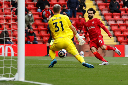 Mohamed Salah narrowly missed out on winning the Premier League Golden Boot