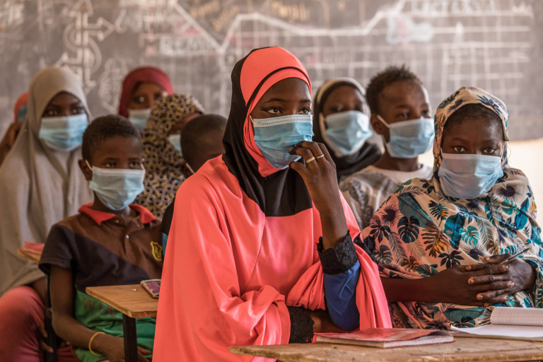 After everything she???s been through, you might expect 12-year-old Dioura* not to feel optimistic about the future. During an upsurge in violence that swept Africa???s Sahel region, her village in Niger was attacked by armed insurgents, and her school set ablaze. Dioura???s family was forced to flee and start a new life in Tillaberi region. They are among the 1 million people uprooted from their homes by the conflict, and Dioura is one of 5 million children caught up in a growing humanitarian crisis across the Sahel. Both Dioura???s parents are out of work and struggle to put food on the table ??? she often goes to bed with an empty stomach. Dioura has lost everything ??? except hope, and compassion for others. ???I would like to become a doctor when I finish my studies, to help people.??? She???s never lost belief in herself either. ???I know myself: I am intelligent, a hard worker and merciful.??? She???s getting support too ??? from the teachers at her new school. It???s part of a landmark programme launched by Save the Children and the EU in response to the Sahel Crisis. It aims to tackle the education, protection and mental health needs of 200,000 children across Mali, Niger and Burkina Faso.