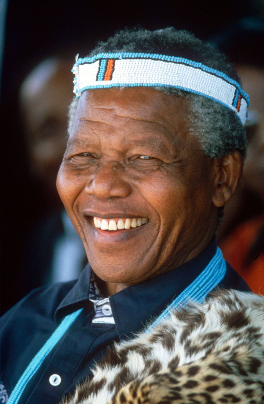 Mandatory Credit: Photo by Sipa Press/REX/Shutterstock (229223a) NELSON MANDELA NELSON MANDELA MEETS WITH THE TRIBAL LEADERS ON EASTERN CAPE OF SOUTH AFRICA - 1994