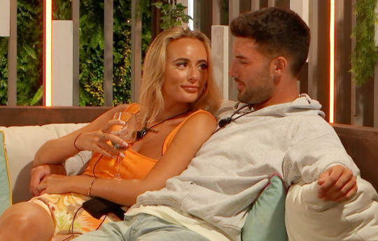 Millie Court and Liam Reardon from Love Island