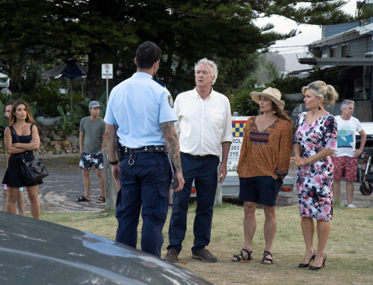 Marilyn, John, Cash and Leah in Home and Away
