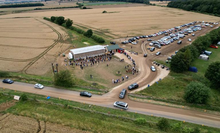 Jeremy Clarkson farm queues